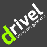Drivel - Dummy Text Generator